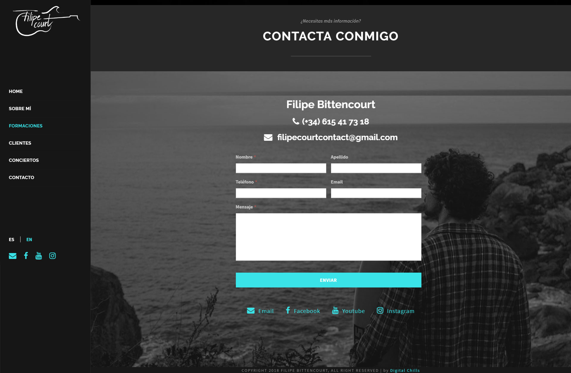 Portfolio Filipe Bittencourt | DIGITAL CHILLS Diseño & Marketing Digital