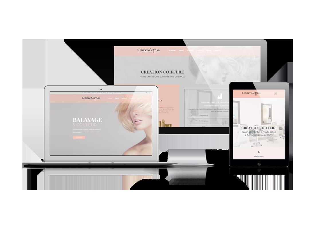 Portfolio Création Coiffure   DIGITAL CHILLS Diseño & Marketing Digital