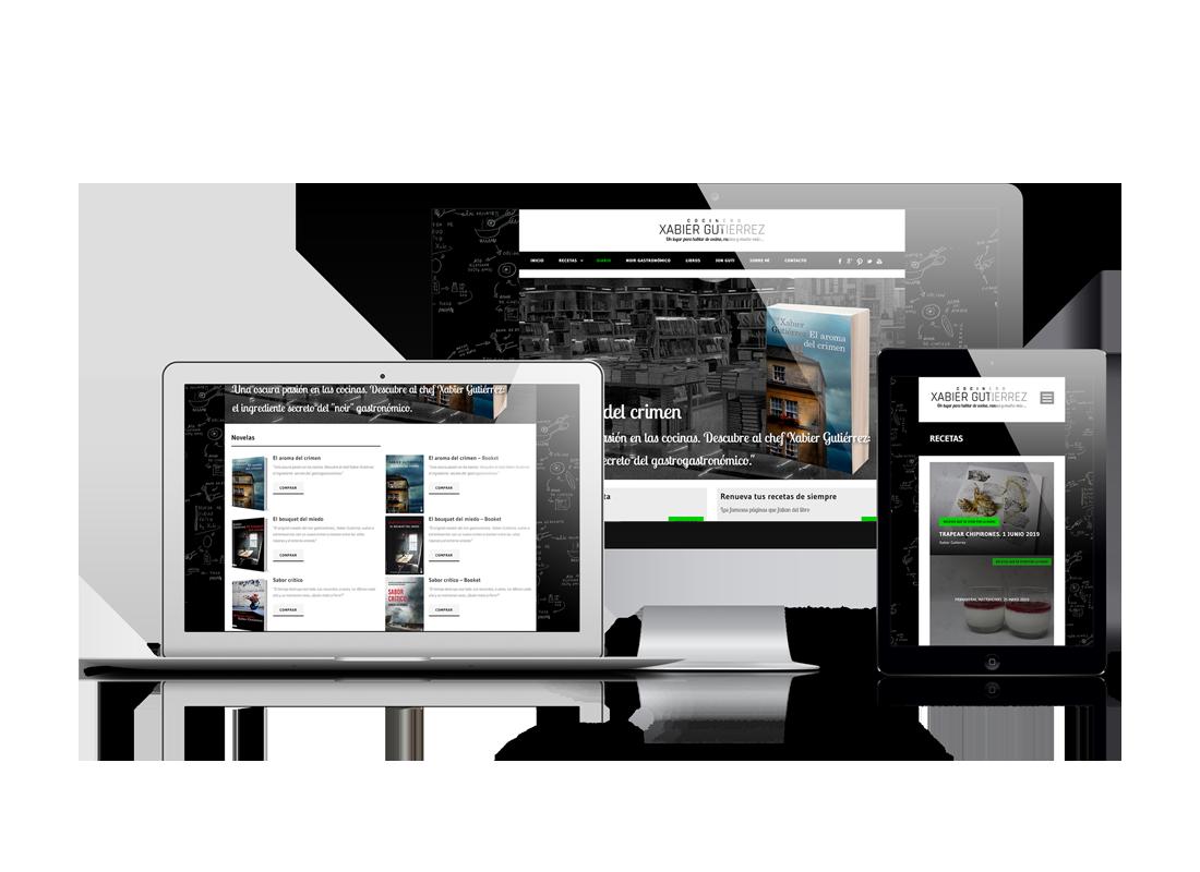 portfolio xabier Gutierrez Cocinero   DIGITAL CHILLS Diseño & Marketing Digital