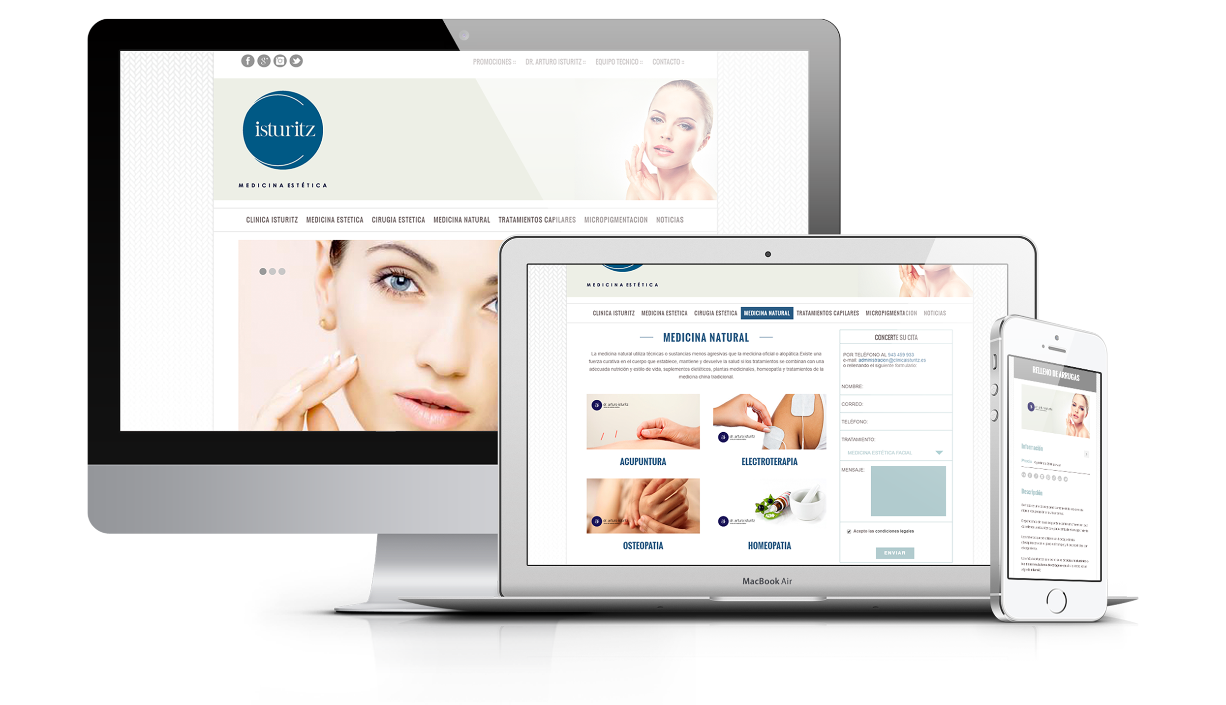portfolio Clinica Isturitz   DIGITAL CHILLS Diseño & Marketing Digital