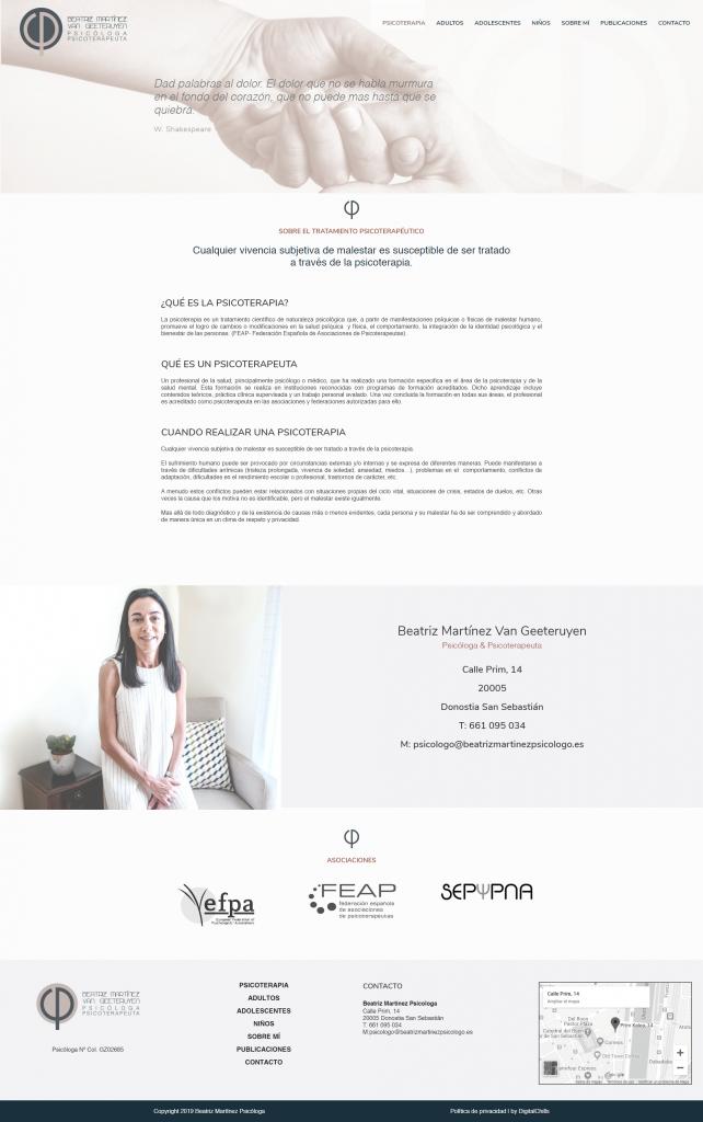 Beatriz Martinez Psicologo | DIGITAL CHILLS Diseño & Marketing Digital