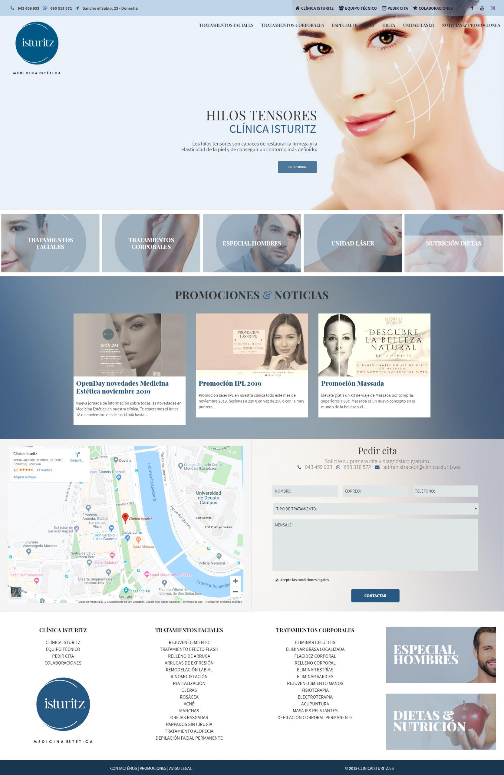 Clínica Isturiz   DIGITAL CHILLS Diseño & Marketing Digital