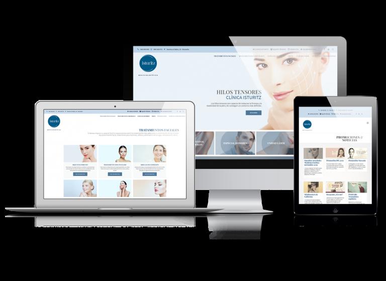 Clinica Isturiz | DIGITAL CHILLS Diseño & Marketing Digital