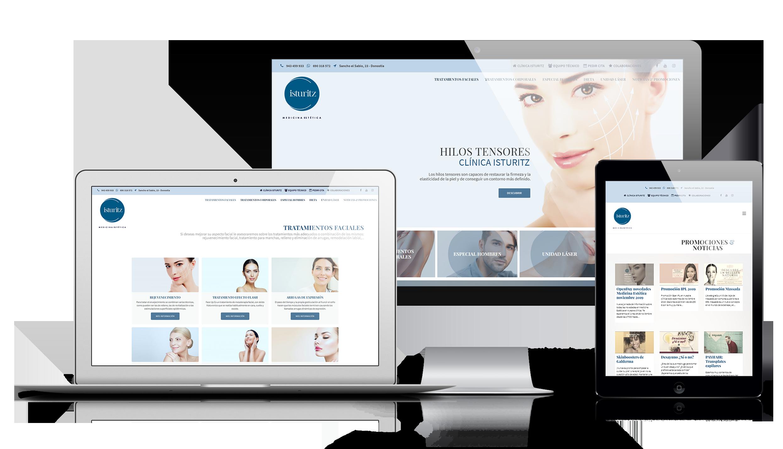 Clinica Isturiz   DIGITAL CHILLS Diseño & Marketing Digital